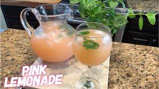 Como hacer  Pink Lemonade / Limonada Rosita