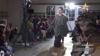 Y/PROJECT Paris Fashion Week Men's Fall/Winter 2018-19