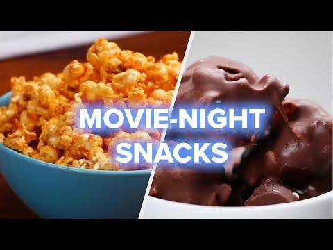 4 Movie Night Snack Recipes •Tasty
