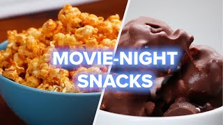 4 Movie Night Snack Recipes • Tasty