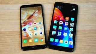 Honor 9 lite vs Xiaomi Redmi 5 Plus - ТЕСТ СКОРОСТИ (Speedtest)