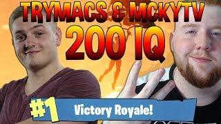 👉TRYMACS & MCKYTV 200 IQ PLAY👈 Razzzero0o AIMGOD ? FORTNITE DEUTSCHE HIGHLIGHTS #006