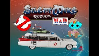 Ghostbusters Ecto-1 Die-Cast - Auto World 1/18 1959 Cadillac - Silent Mike Review #057