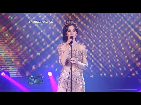 Natalia Oreiro cantó uno de los éxitos de Gilda