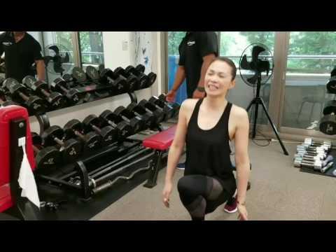 【筋トレ女子】ストレッチ~脚のトレーニング【ダンベル】