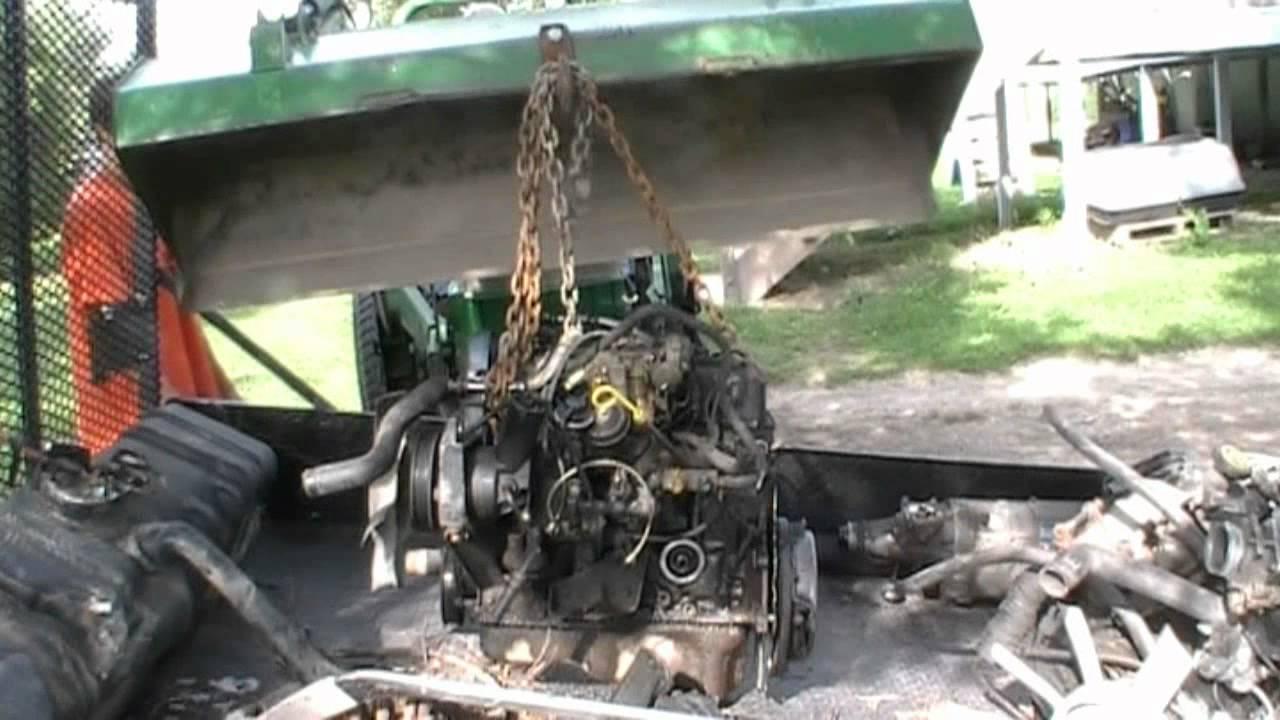 ford ranger engine pull youtube