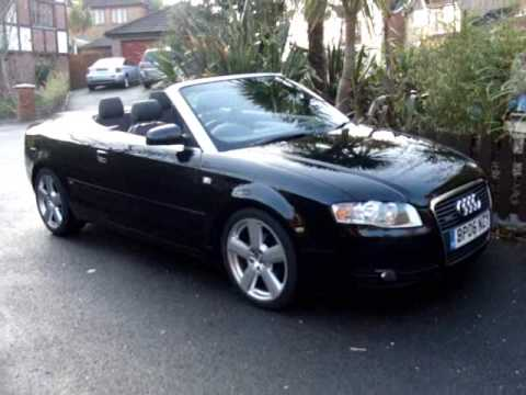 2006 Audi A4 TDi S Line Convertible - YouTube