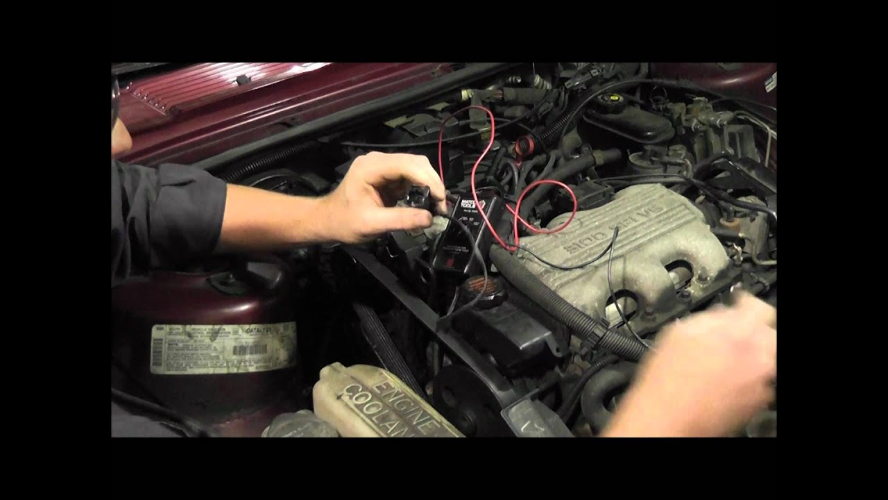 How To Test A Fuel Injector For Flow Problems Gm