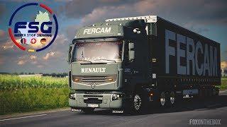 FSG Alsace v1.0 - Renault Premium 430 DXi & EVR Sound   Euro Truck Simulator 2