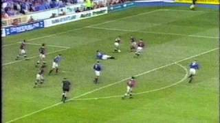 Hearts decide to play Rangers with seven men.