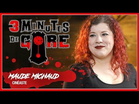 3 minutes de gore   S01 E10   Maude Michaud