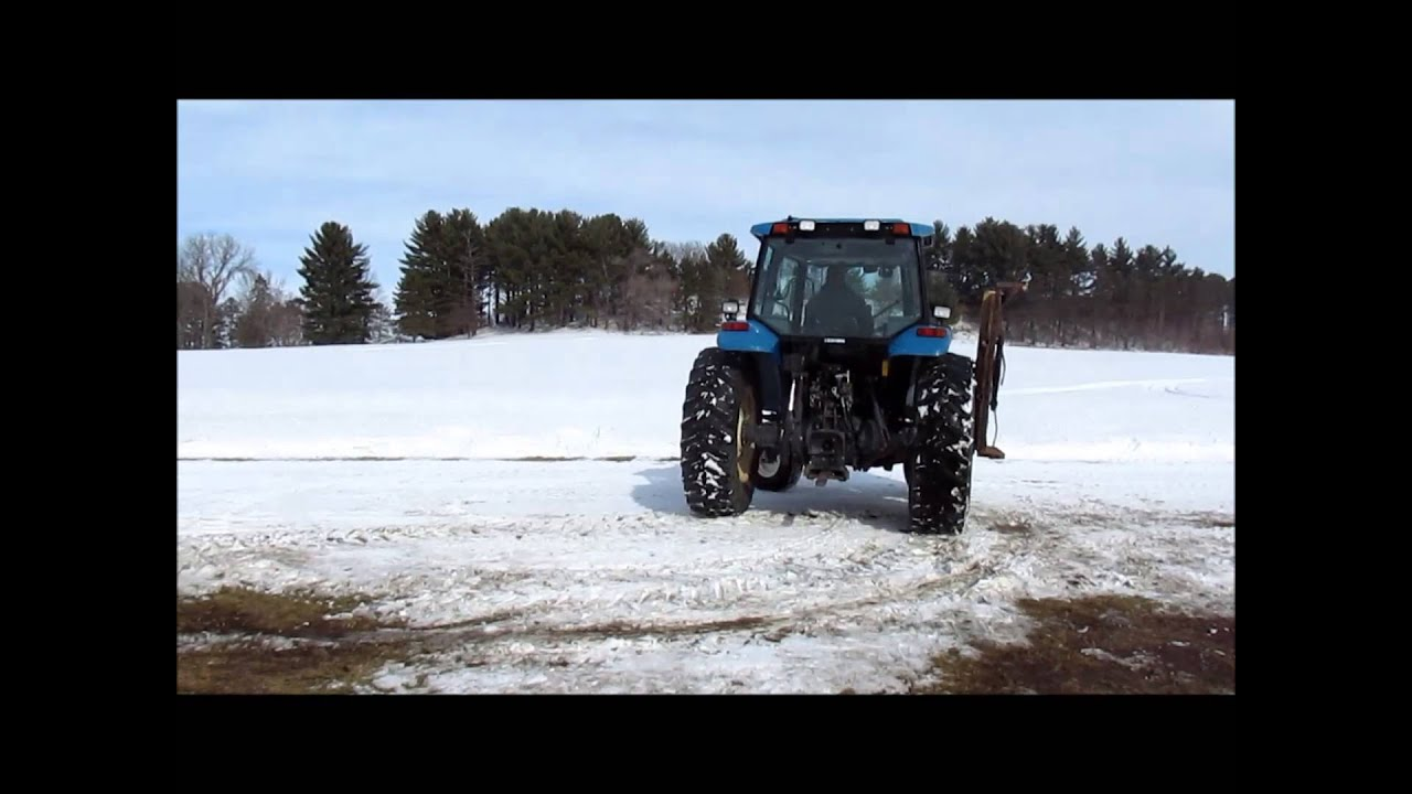 2000 New Holland TS100 tractor for sale | sold at auction March 24, 2014