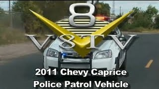 Pontiac G8 Lives On As Caprice Police Car?   V8TV-Video