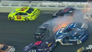 spanishListen to the end of the Daytona 500 in Spanish - Courtesy FOX Sports Latin America
