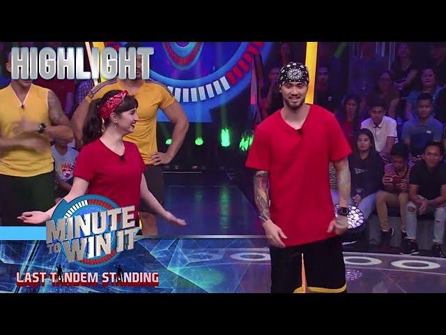 Billy at Coleen, hindi nagpatalo sa dance showdown ng tandem players | Minute To Win It