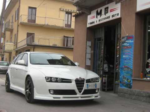 alfa romeo 159 swmb tuning - youtube