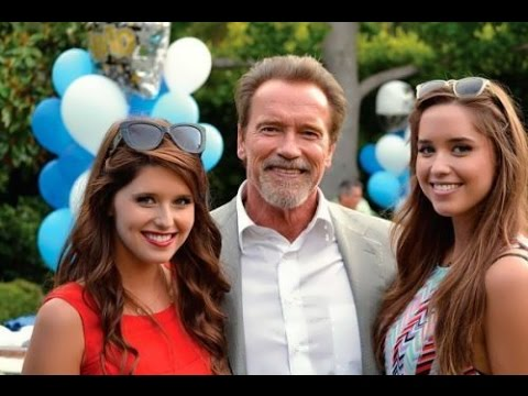 Arnold Schwarzenegger Daughters, Who Is The Most Beautiful? (Christina And Katherine) - 2017