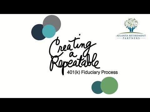 Creating a Repeatable 401k Fiduciary Process