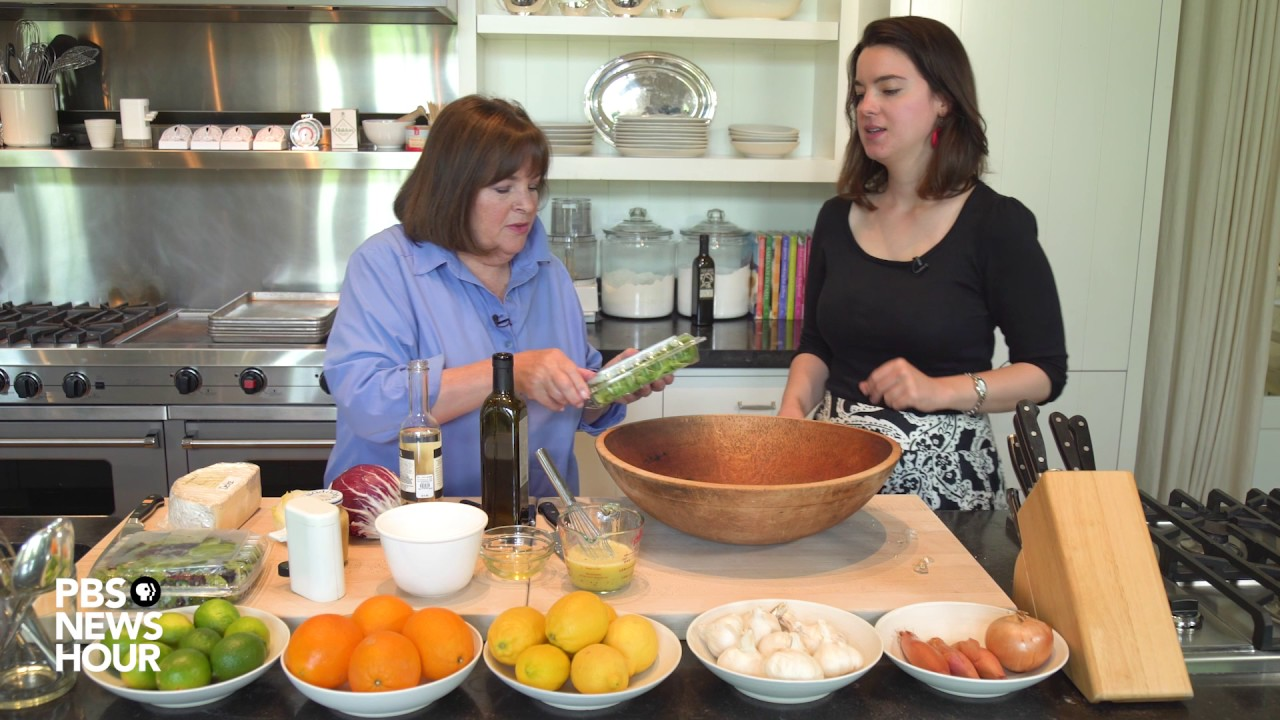 Ina garten shows us how to make the perfect vinaigrette youtube - Ina garten tv show ...