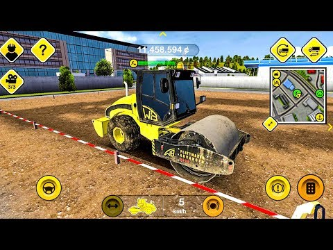 Construction Simulator #3 - Excavator Construction Game - Android gameplay