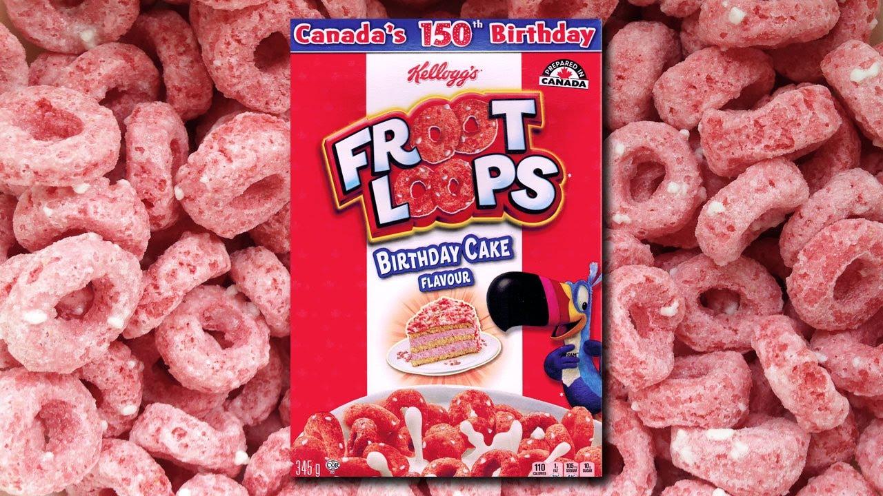 Fruit Loops Birthday Cake Flavor