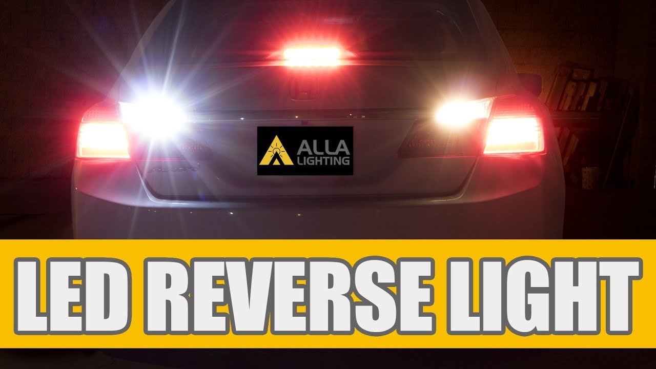 2017 Honda Accord Back Up Reverse Light Bulb Replacement With W16w 921 T25 Led Bulbs