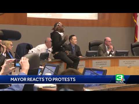 Mayor Responds To Abrupt Sacramento City Council Meeting End