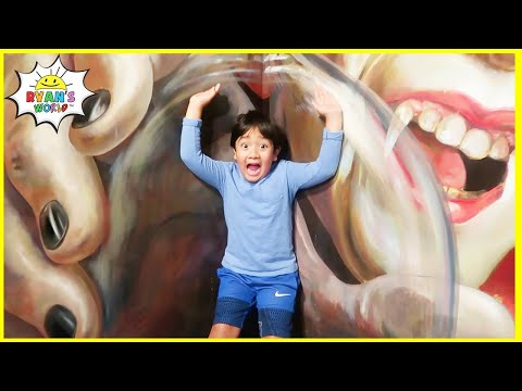 ryan's-fun-day-at-the-museum-of-illusions-and-children's-indoor-park