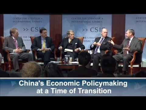 China's Economic Policymaking at a Time of Transition: Panel Discussion