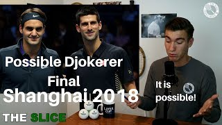 Shanghai 2018: Federer & Djokovic On Crash Course?   THE SLICE