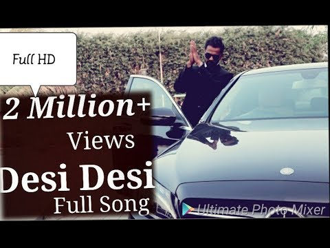Desi Desi  Official Song | Sachin Choudhary Patidar | Hariyanvi | Vicky Kajla