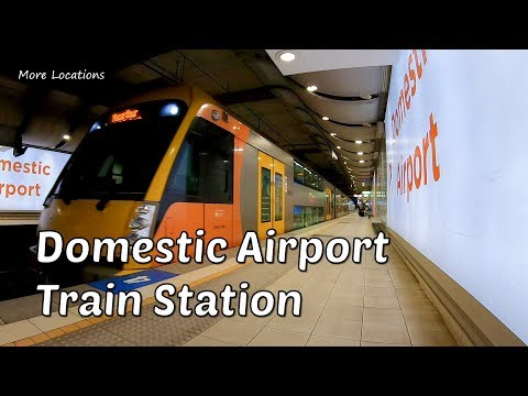 Domestic Airport Train Station - Sydney Australia