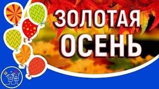 Осень осень. Евгений Войнов. ЗОЛОТАЯ ОСЕНЬ. Клип песни. Смотреть видео про осень. Видео открытки.