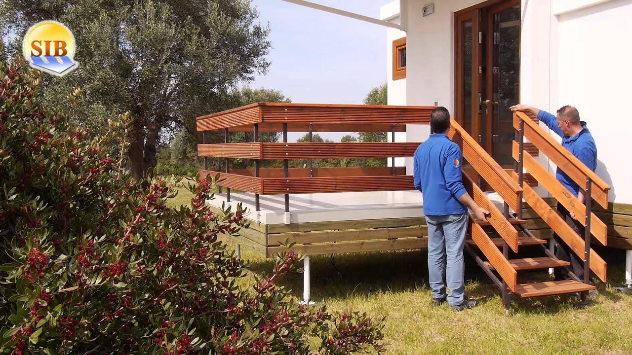Casa mobile itala 40 youtube for Casa mobile in legno