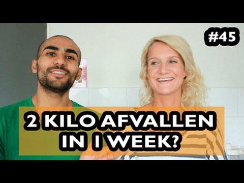 1 kilo per week afvallen met sporten