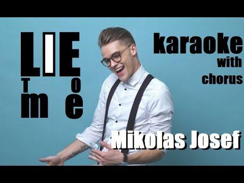 Lie To Me - Mikolas Josef | Karaoke with chorus