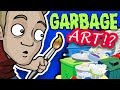 DUMPSTER ART CHALLENGE: From TRASH to ART!