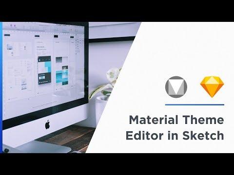 Material Theme Editor in Sketch — Google I/O 2018 - YouTube
