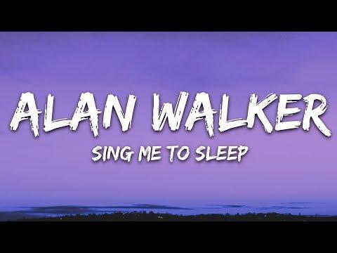Alan Walker - Sing Me To Sleep (Lyrics / Lyric Video) Letra