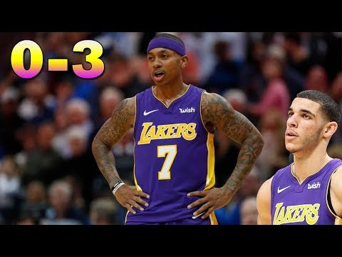 Isaiah Thomas Leads Lakers to a 3 Game LOSING Streak! Where's Lonzo!? Timberwolves vs Lakers!