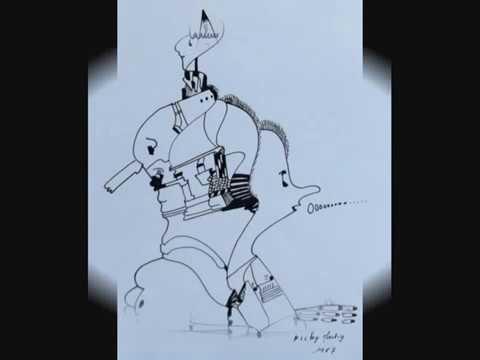Les dessins à l'encre de Chine de Nicky Martig