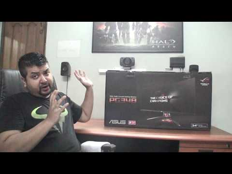 Unboxing Bangladesh - Asus ROG Swift PG348q 34-Inch Ultra-wide QHD Curved Gaming Monitor