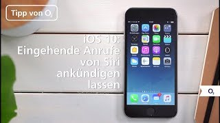 iOS 10: So lasst ihr Siri Anrufer auf dem iPhone ankündigen