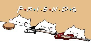 Bongo Cat - I'll Be There For You (Friends Theme Song)