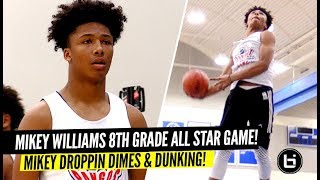 Mikey Williams Makes It Look EASY in 8th Grade All-Star Game!! Mikey Droppin' DIMES!