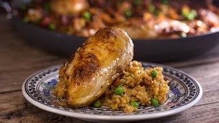 Aarón Sanchez's Christmas Arroz Con Pollo