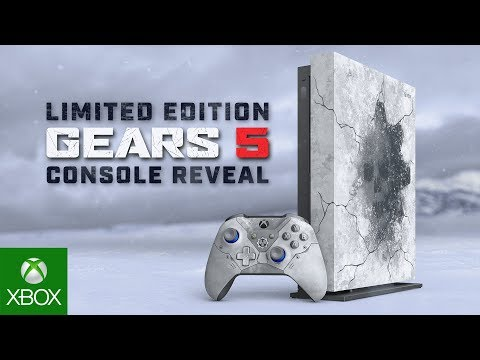 Microsoft announces Gears 5-themed Xbox One X, the first limited edition model since Project Scorpio