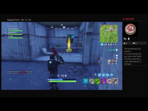 Fortnite: A Team Effort W/The Eazy Crew