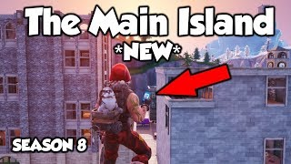 *SEASON 8* Wie man zum MAIN ISLAND In Creative With The Phone (Fortnite)