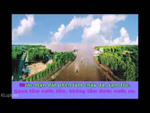 Karaoke _ Ca Cổ Yêu Lắm Cà Mau - Dây Đào _ Soạn Giả Lê Thanh Tịnh